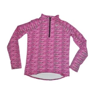 Justice 1/4 Zip Up Athletic Long Sleeve Sweater